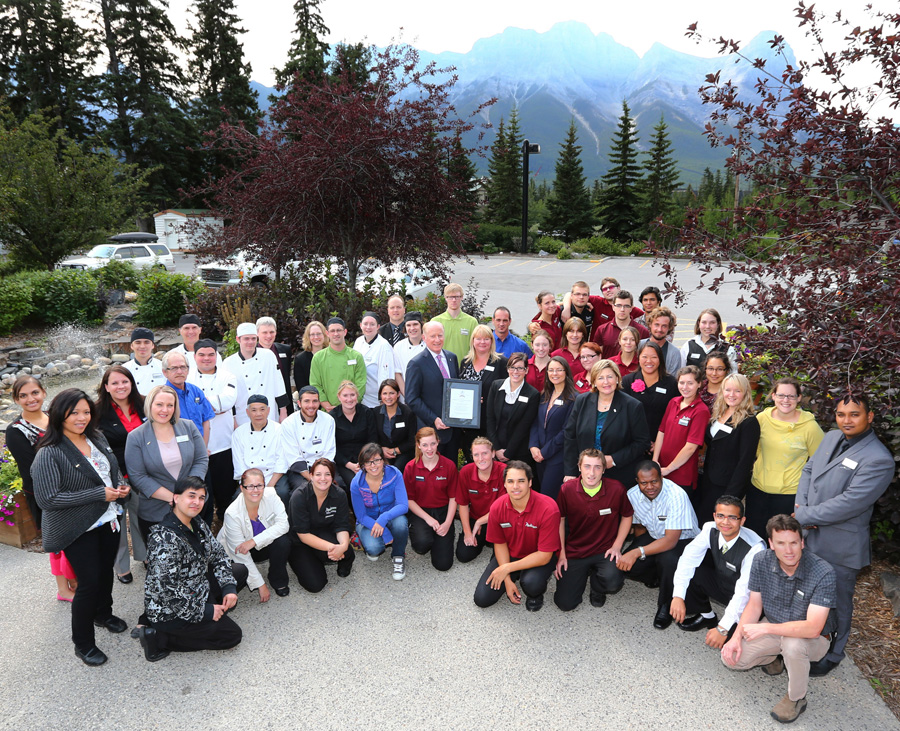Radisson Hotel Canmore August 28 2017