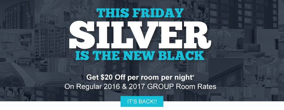 SilverBirch Hotels & Resorts BlackFriday Promotion 2016/2017