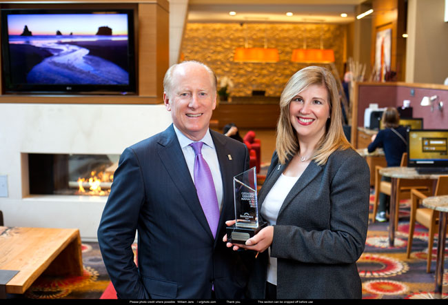 Suzanne Allemeir wins GM of the Year, SilverBirch Hotels & Resorts