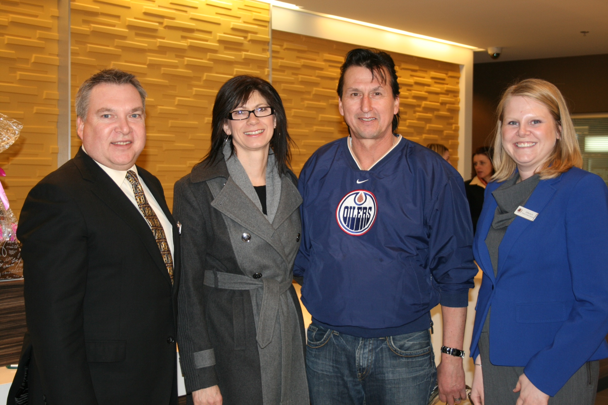 First guests of DoubleTree by Hilton™ West Edmonton