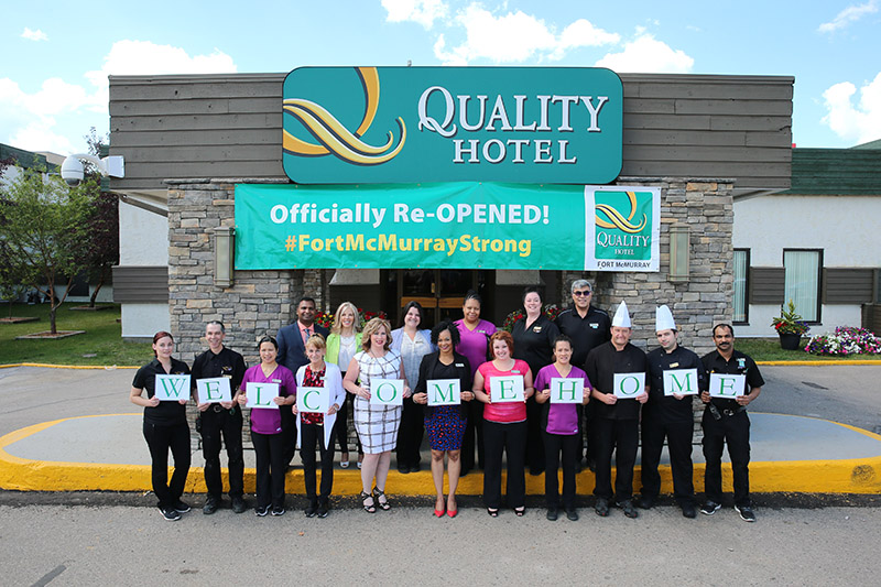 Quality Hotel Fort McMurray Re-Opens!