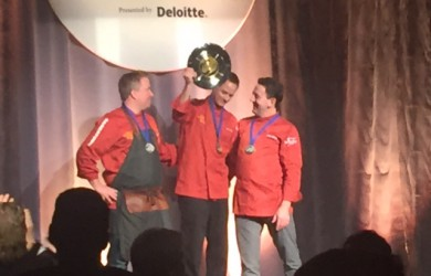 Chef Scott Torgerson Wins Gold at Gold Medal Plates Saskatoon