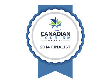 Finalist for Business of the Year Award, 2014 Canadian Tourism Awards