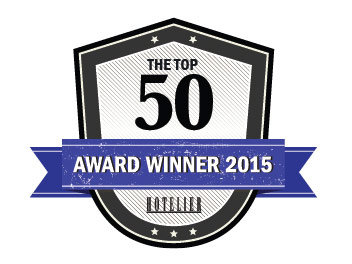 Hotelier Top 50 Award Winner - 2015